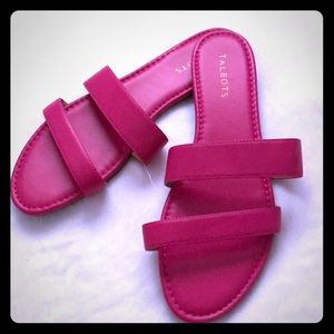 Talbots New Pink Sandals Size 10! Never worn!